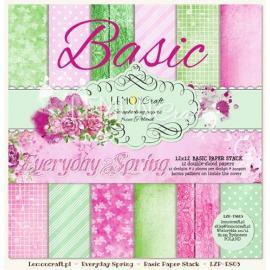 Дизайнерска хартия, блокчe - Everyday spring, 12х12 инча