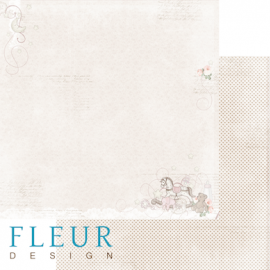 Дизайнерска хартия, лист Бебе момиче, Играчки