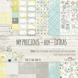 Дизайнерска хартия, блокче - My Precious Boy Extras