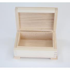 Дървено ковчеже 13х9х6,5