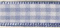 Карирана панделка - светло синя