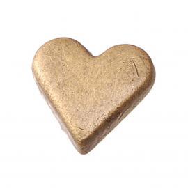 Капси сърца, антично сребро