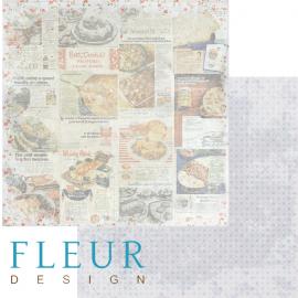 Дизайнерска хартия, лист Рецепти