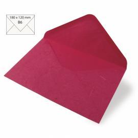 Японска хартия, плик, розово
