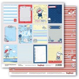 Дизайнерска хартия, - Морски приключения 8