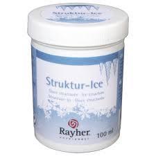 Лед - структура