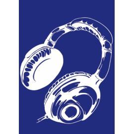 Шаблон за текстил- слушалки