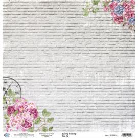 Дизайнерска хартия, лист - Spring feeling 14