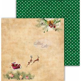 Дизайнерска хартия, 12x12 - Festive Bells 04