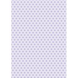 Дизайнерска хартия, А4 - Средни точки, лилаво 2