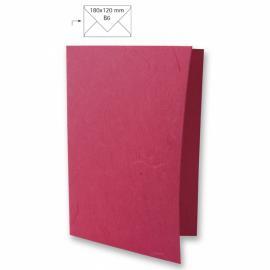Японска хартия, основа за картичка, розово