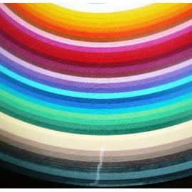 Комплект квилинг лентички - 35 цвята, 4мм, 50см