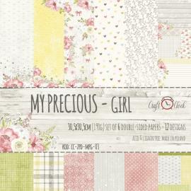 Дизайнерска хартия, блокче 12x12 - My Precious Girl