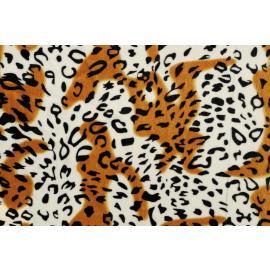 Плюш - леопард 50х70