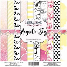 Дизайнерска хартия, блокче Magnolia sky 12x12 инча