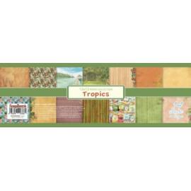 Дизайнерска хартия, блокчe - Tropics 12x12 инча