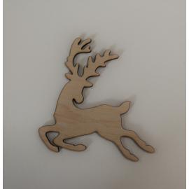 Дървено еленче 10,5х10,5 см