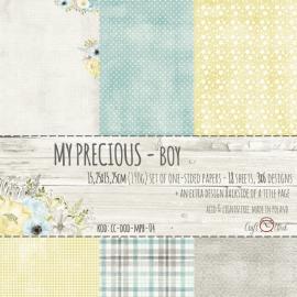 Дизайнерска хартия, блокче 6х6 - My Precious Boy