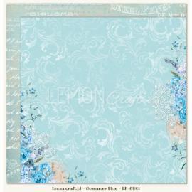 Дизайнерска хартия, лист - Gossamer Blue