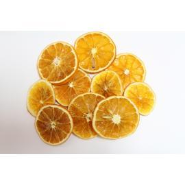 Сушени портокалови резенчета, 10 бр.