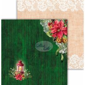 Дизайнерска хартия, 12x12 - Festive Bells 01