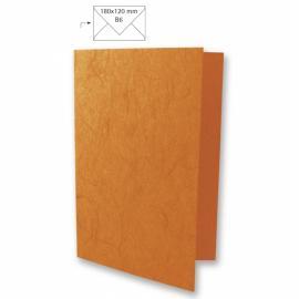 Японска хартия, основа за картичка, оранжево