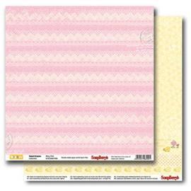 Дизайнерска хартия, лист Сладки мечти