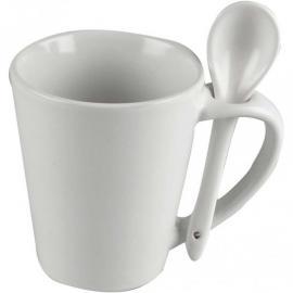 Порцеланова чаша с лъжичка