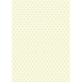 Дизайнерска хартия, А4 - Средни точки, лайм 2