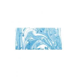 Мраморна боя-синя