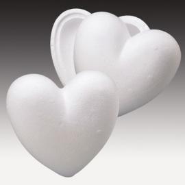 Стиропорена кутия сърце