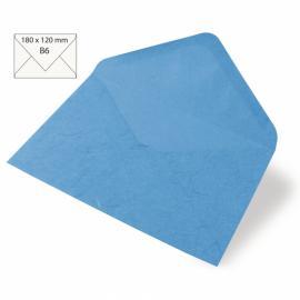 Японска хартия, плик, индийски тюркоаз