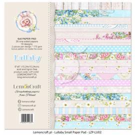 Дизайнерска хартия, блокче 6х6 - Lullaby 2