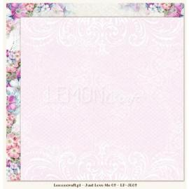 Дизайнерска хартия, лист - Just love me
