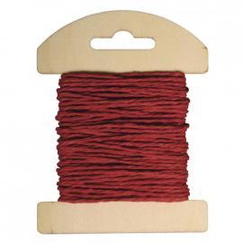 Хартиен шнур - червен