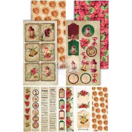 Картончета за картички Festive Bells