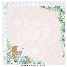 Дизайнерска хартия, 12x12 - Lullaby 2