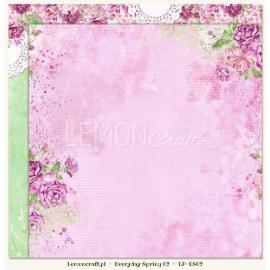 Дизайнерска хартия, лист - Everyday Spring 02