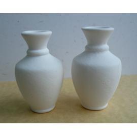 Керамична вазичка мини - бяла