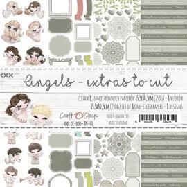 Дизайнерски елементи за изрязване 15.5x30.5 - Angels