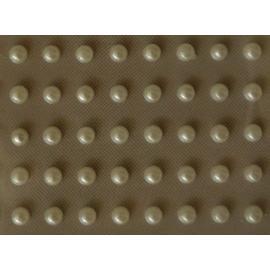 Самозалепящи перлени камъчета, 3мм, бели