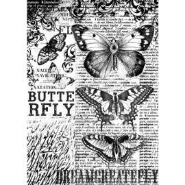 Оризова хартия за декупаж - Пеперуди 2