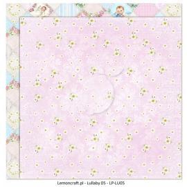 Дизайнерска хартия, 12x12 - Lullaby 5