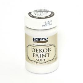 Боя за декорация SOFT 100мл - бял