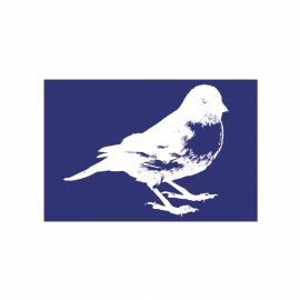 Шаблон за текстил-птиче