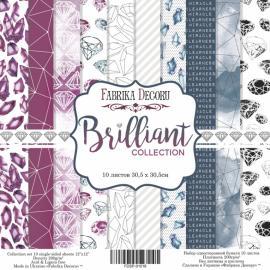 Дизайнерска хартия, блокче Brilliant collection 12x12 инча