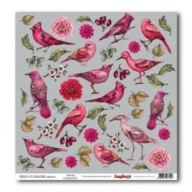Дизайнерска хартия,Birds of Paradise