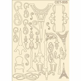 Бирен картон - сет 505 Париж