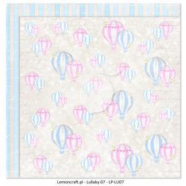 Дизайнерска хартия, 12x12 - Lullaby 7