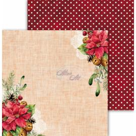 Дизайнерска хартия, 12x12 - Festive Bells 06
